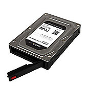 """StarTech 2.5"""" to 3.5"""" SATA Aluminum Hard Drive Adapter Enclosure with"""