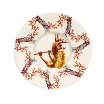 Iittala Tanssi White Coffee Saucer 15cm (Saucer Only)