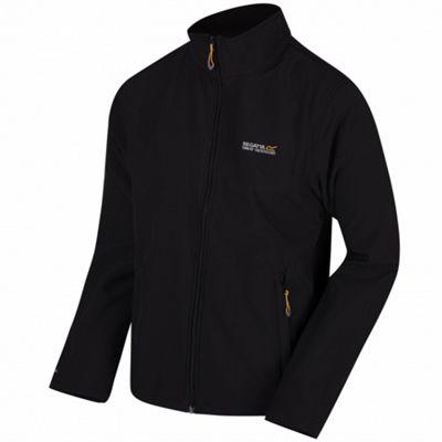 Regatta Cera III Softshell Mens Jacket Black-Black S