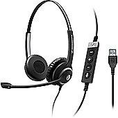 Sennheiser Circle SC 260 MS II Wired Stereo Headset - Over-the-head - Supra-aural - Black, Silver