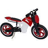 Kiddimoto Scrambler (Red/Black/White)