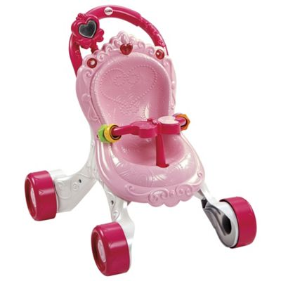 Fisher Price Stroll Along Musical Princess Walker