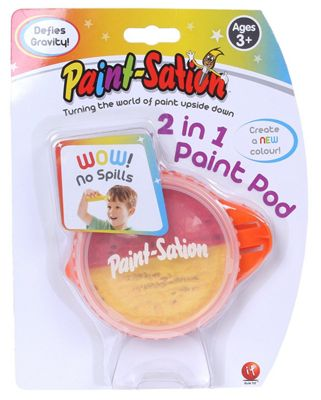 Paint-Sation 2 In 1 Paint Pod Red/Yellow