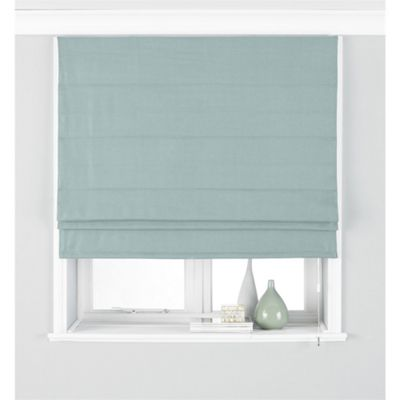 Riva Home Atlantic Duck Egg Blue Roman Blind - 153x137cm