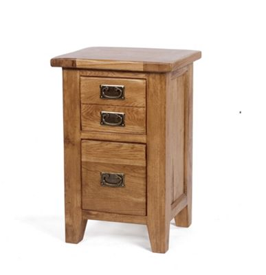 Wiseaction Florence 3 Drawer Bedside Table