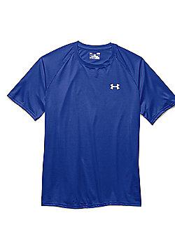 Under Armour Mens Tech Short Sleeve T-Shirt Tee - Royal blue