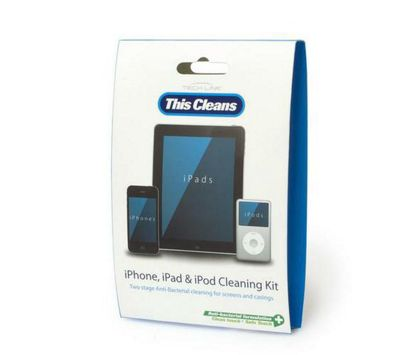 Techlink Anti-Bacterial cleaning kit for iPhone/iPod/iPad