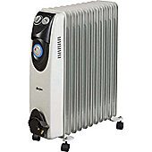 Stirflow 2.5KW Oil Filled Radiator with Timer