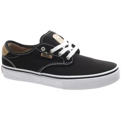 Vans Chima Pro Black/Tan/White Kids Shoe XKZDPE