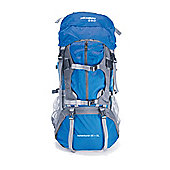 65 + 5 Litre Waterproof Rucksack 600D Nylon - Blue