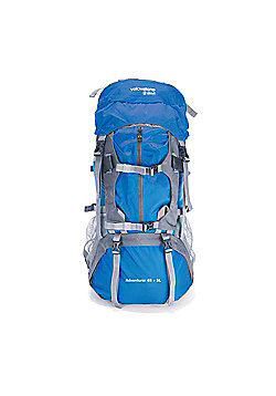 65 + 5 Litre Waterproof Rucksack 600D Nylon - Blue