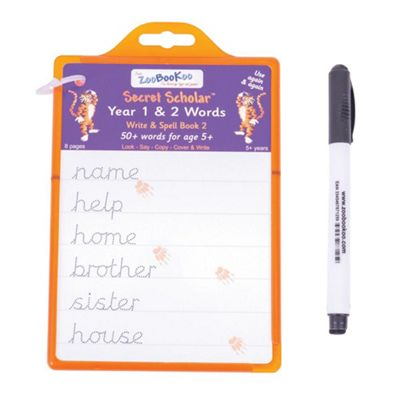 ZooBooKoo Secret Scholars Year 1 and 2 Words - Writing and Spelling for 5-7 Years
