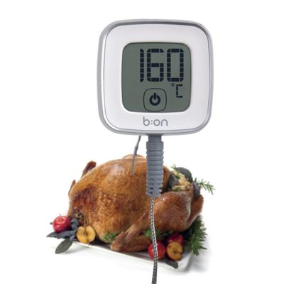 Digital Touchscreen Cooking Thermometer Bluetooth Wireless Tool Compatible iOS Android Phones