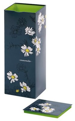 Virojanglor Herbal Range Camomile Design Storage Tin