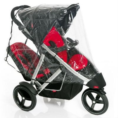 Buy Phil Teds Vibe Verve Double Buggy Raincover From Our Rain
