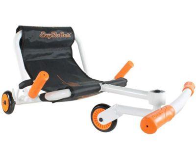 Ezy Roller Classic No-Pedal Snake Kart White/Orange
