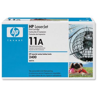 HP 11A Black LaserJet Toner Cartridge