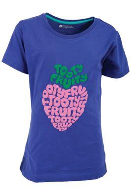 Tooty Fruity Kids Tee Shirt 100% Cotton Round Neck T-Shirt Top