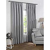 Rapport Sophia Pencil Pleat Blackout Curtains - Silver