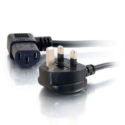 Cables to Go 5m Universal Power Cord Black