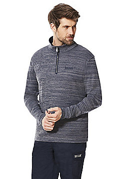 Regatta Tayson Half Zip Fleece - Navy