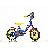 Fireman Sam 12inch Bike Blue - DINO Bikes