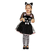 F&F Cat Halloween Costume - Black