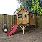 Mercia 4x4 Playhouse Tower With Slide