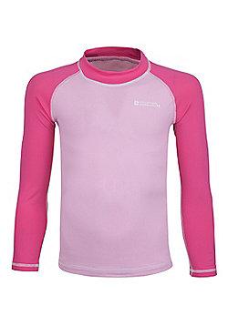 Mountain Warehouse Kids Long Sleeved Rash Vest ( Size: 9-10 yrs )