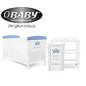 Obaby Grace Inspire 2 Piece Room Set and Changing Mat - Little Prince