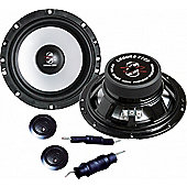 Ground Zero Radioactive 165FXII Component Car Speaker System