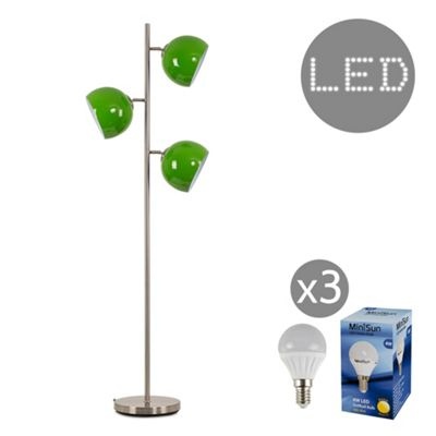 Elliott 150cm LED Floor Lamp - Green