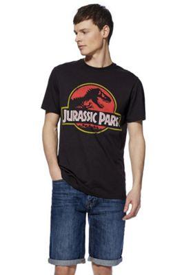 Jurassic Park T-Shirt Washed Black 4XL