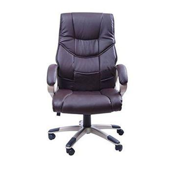 Homcom Computer Office Chair Brown