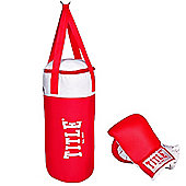 Title Junior Boxing Punch Bag & Bag Mitts