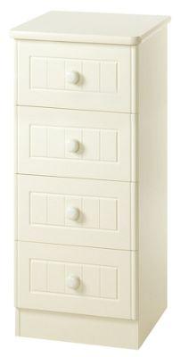 Welcome Furniture Warwick 4 Drawer Chest - Light Oak