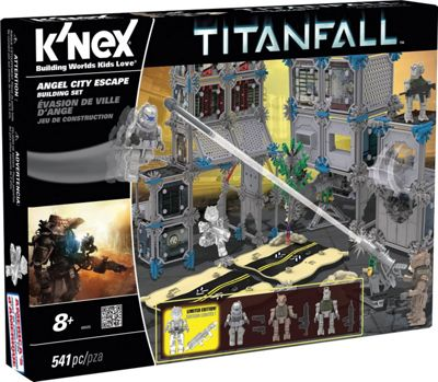 K'nex Titanfall Angel City Escape Building Set