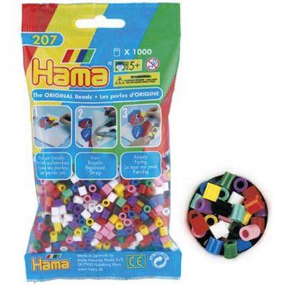 Hama Beads 1,000 - Solid Mix