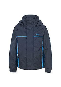 Trespass Boys Mooki Waterproof Jacket - Navy