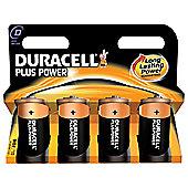 Duracell MN1300B4 Plus Alkaline General Purpose Battery