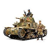 Italian Medium Tank Carro Armato M13/40 - 1:35 Scale Military - Tamiya