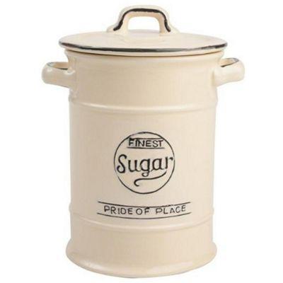 T&G Pride of Place Sugar Storage Jar, Cream