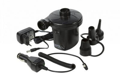 Regatta Rechargeable AC/DC Electric Pump with EU Plug - Black