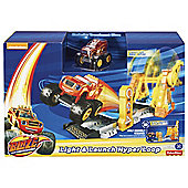 Fisher Price Blaze And The Monster Machines Light And Launch Hyper Loop
