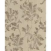 Graham & Brown SFC Acanthus Wallpaper - Beige