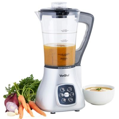 VonShef Multifunction Soup Maker, Silver