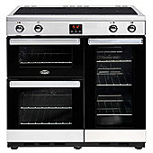 Belling 444444090 Cookcentre 100cm Induction - S/S