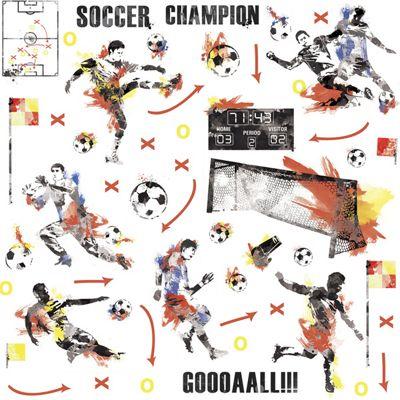 Football Champion Wall Stickers