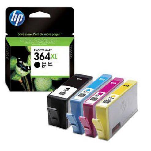 Hewlett-Packard Original Ink Cartridges to Replace HP364XL (Pack 4) - Cyan / Magenta / Yellow / Black