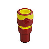 Kingfisher Pro Gold Soft Grip Female Hose Connector - Multi